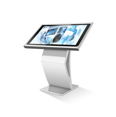 China Digital Display Touch Screen Kiosk Thin 43 Inch Support SD Card High Definition supplier