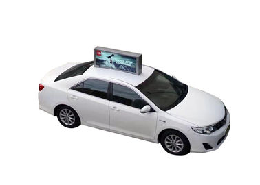 China Wall Mounted Car Roof Top Advertising Sign , Car Top Advertising Signs supplier