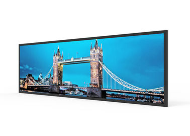 China Bar Type Stretched Display Screen Ultra Wide Anti Thieves Full HD LCD Panel supplier