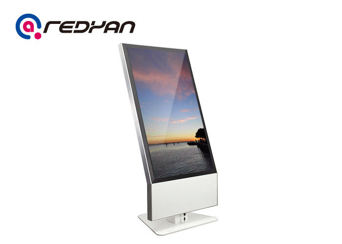 PC 47 Inch HD Touch Screen Digital Signage LCD Screen With 3G Network