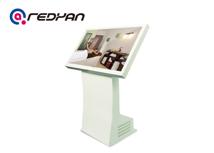 Floor Standing All In One Digital Signage WIFI Full HD For Restaurant