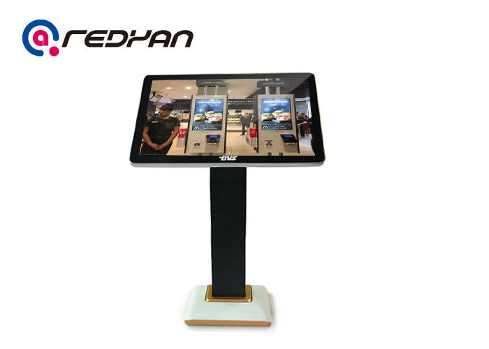 Restaurant Digital Signage IR Touch , Wireless Digital Menu Board 1366*768