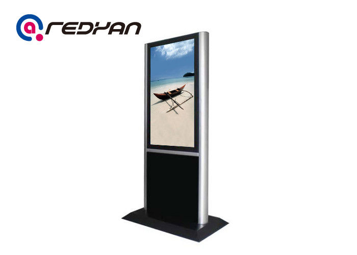 High Brightness 700nits Floor Standing Digital Signage For Office / School