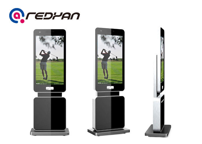 47 Inch Standing Advertising Digital Signage Rotatable With1080P Resolution