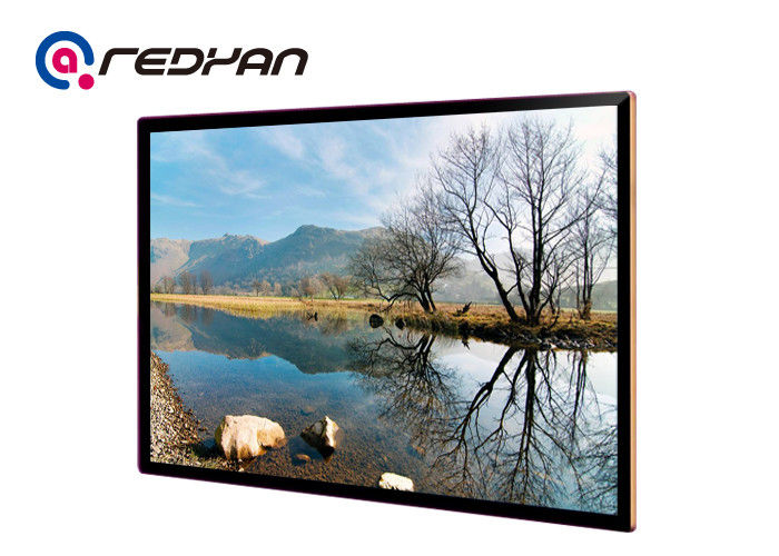 32 Inch LCD Digital Menu Boards For Restaurants Android Touch / 400nits Brightness