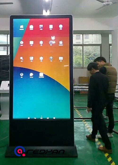 86 inch Outdoor Digital Signage Android System 2500 nits Gas Station 4G Advertising  Player