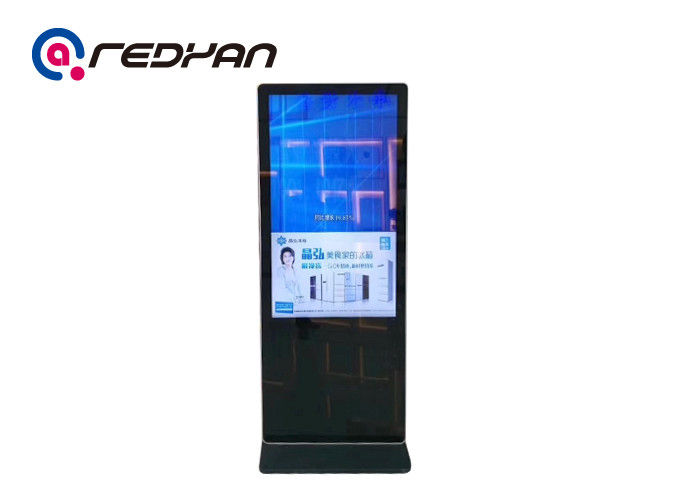 Ultra Slim 49 Inch Standing Digital Signage Lcd
