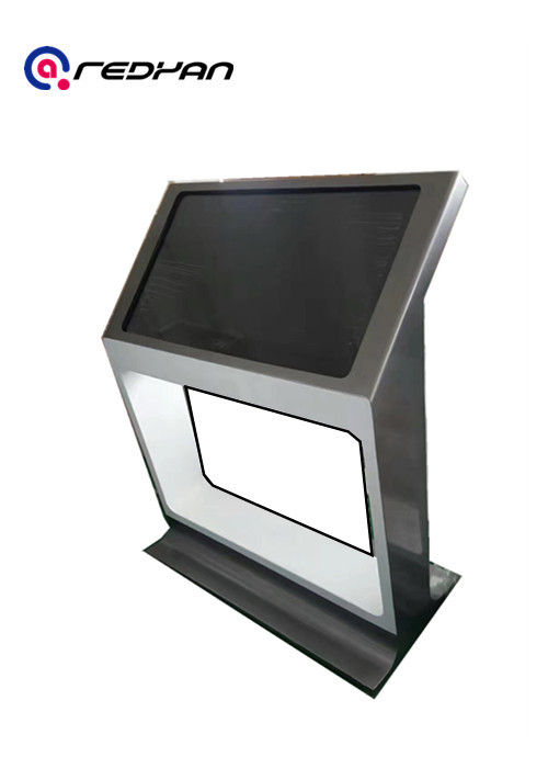 Outdoor Nano 10 Point Lcd Touch Screen Kiosk Display 55 inch LG 2000 nits High Brightness