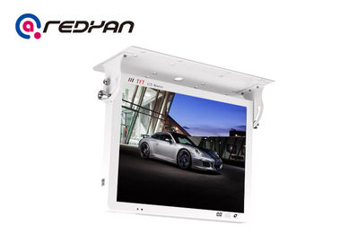 Custom 3G Rolling Bus Tv Monitors Android  With LED Backlight , DC 8V-36V