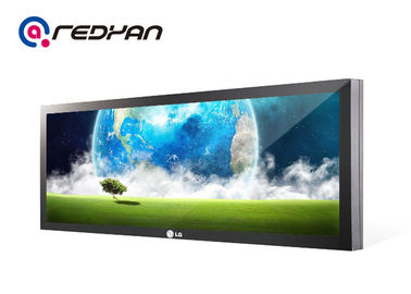 1 / 2 Cutting Horizontal Stretched Lcd Display High Brightness For Advertising