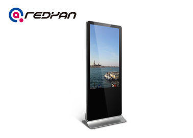 Free Stand 3G Digital Signage 42 Inch LCD Media Player SD Card Storage