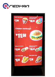 Electronic Menu Board Digital Signage for Quick Service Restaurant , Android OS