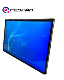 Ultra Slim Wall Mounted digital menu boards for restaurants , High Definition