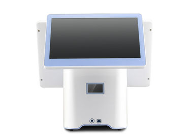 White Touch POS Machine , Touch Screen Cash Register Machine User Friendly