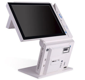 65 Inch Lcd Display Dual Touch Touch POS Machine For Restaurant Billing System