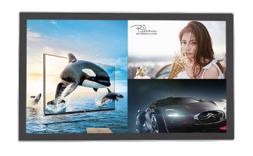 China 2x2W Speakers Infrared Touch Screen 32 Inch Android OS Auto Detecting Colored System factory
