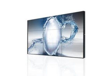 Wide Viewing Angle Seamless LCD Video Wall High Resolution 1920*1080 4K Input