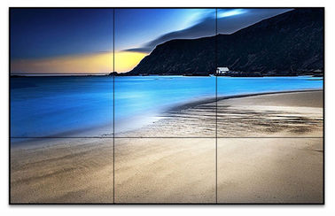 High Definition LCD Wall Display Screen Safe Glass Sunlight Readable Waterproof