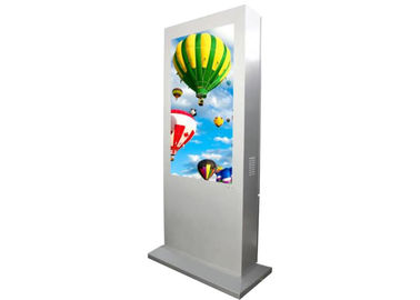 China High Resolution Outdoor LCD Digital Signage 60000 Hours Life Expectance Easy Use factory