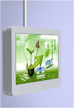 Vertical Wall Mount Outdoor Digital Signage Fan Cooling 2500 nits facing Sunlight Display